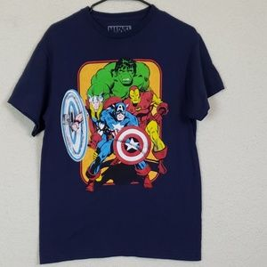 Marvel mens tee size medium